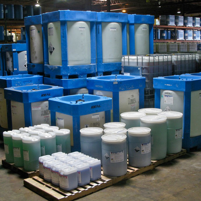 Various Chemical Distribution Containers